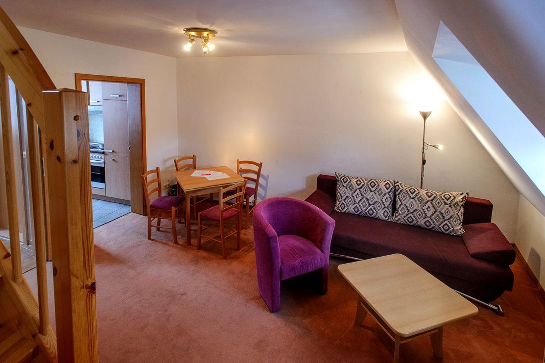 Maisonette-Zimmer Dächerblick - bautzen-pension-zimmer-002.jpg